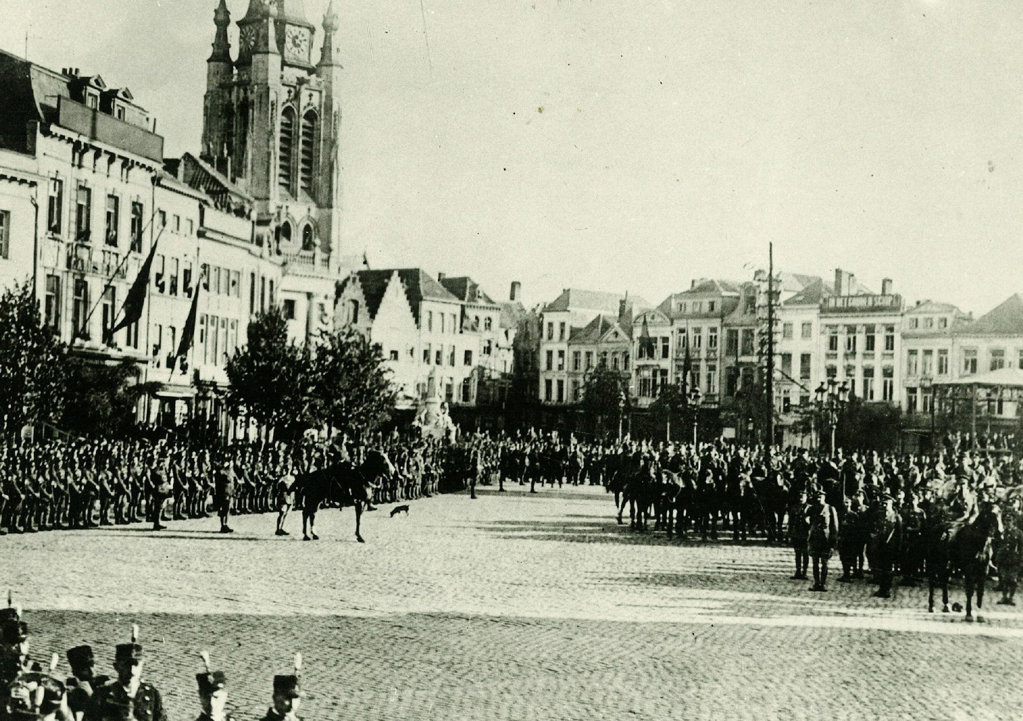 De bevrijding in oktober 1918