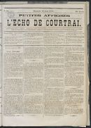 L'echo De Courtrai 1873-08-10