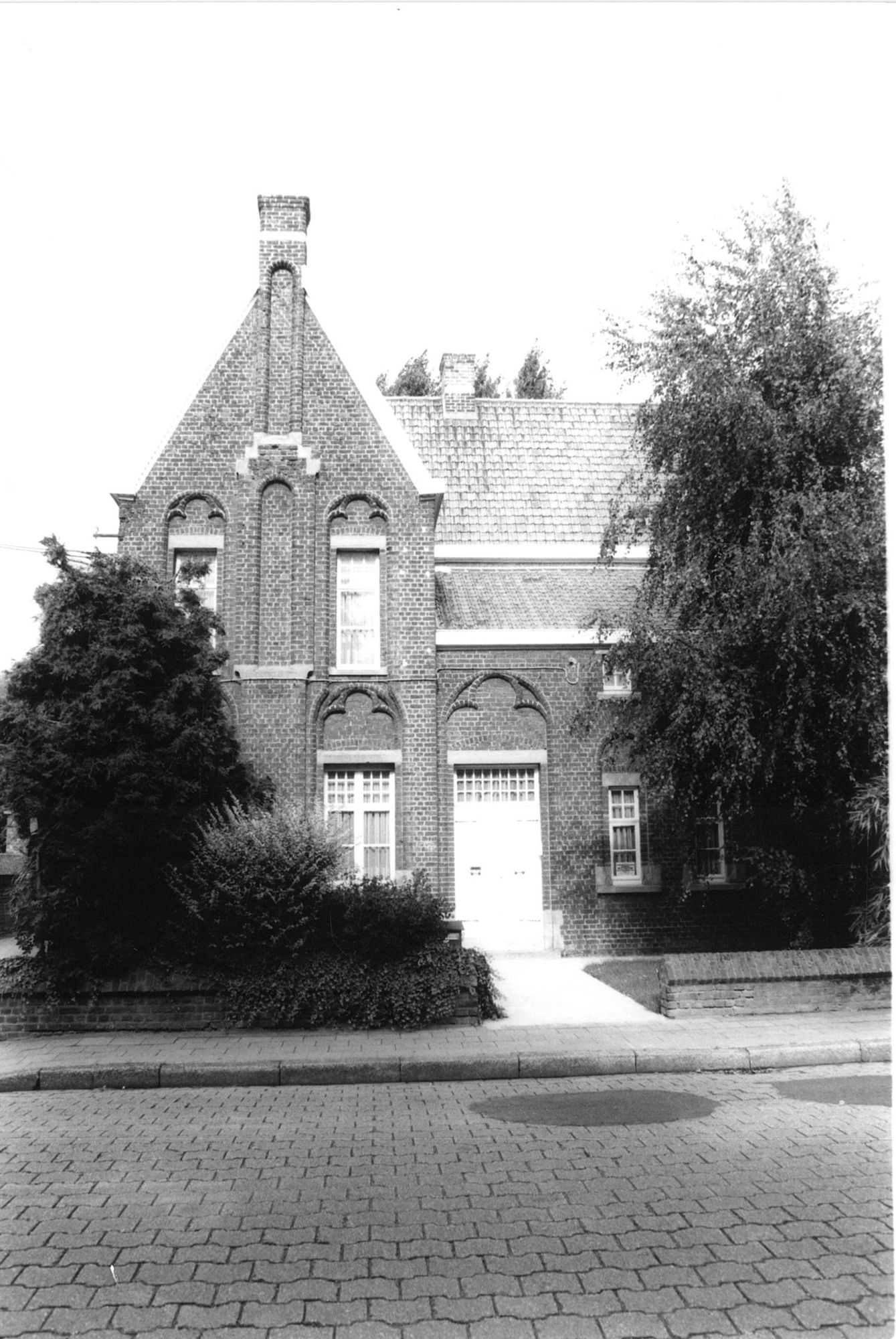 Onderpastorie in de Markekerkstraat te Marke