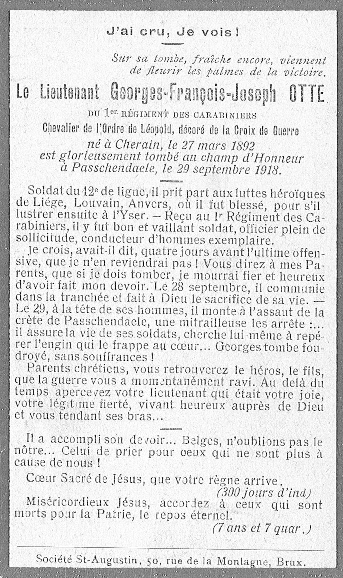 Otte Georges-François-Joseph