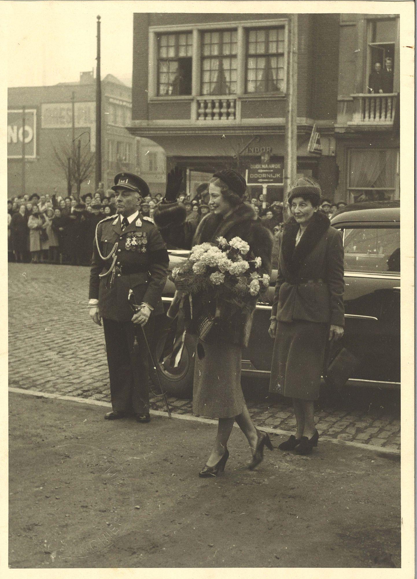 Prinselijk bezoek 1950