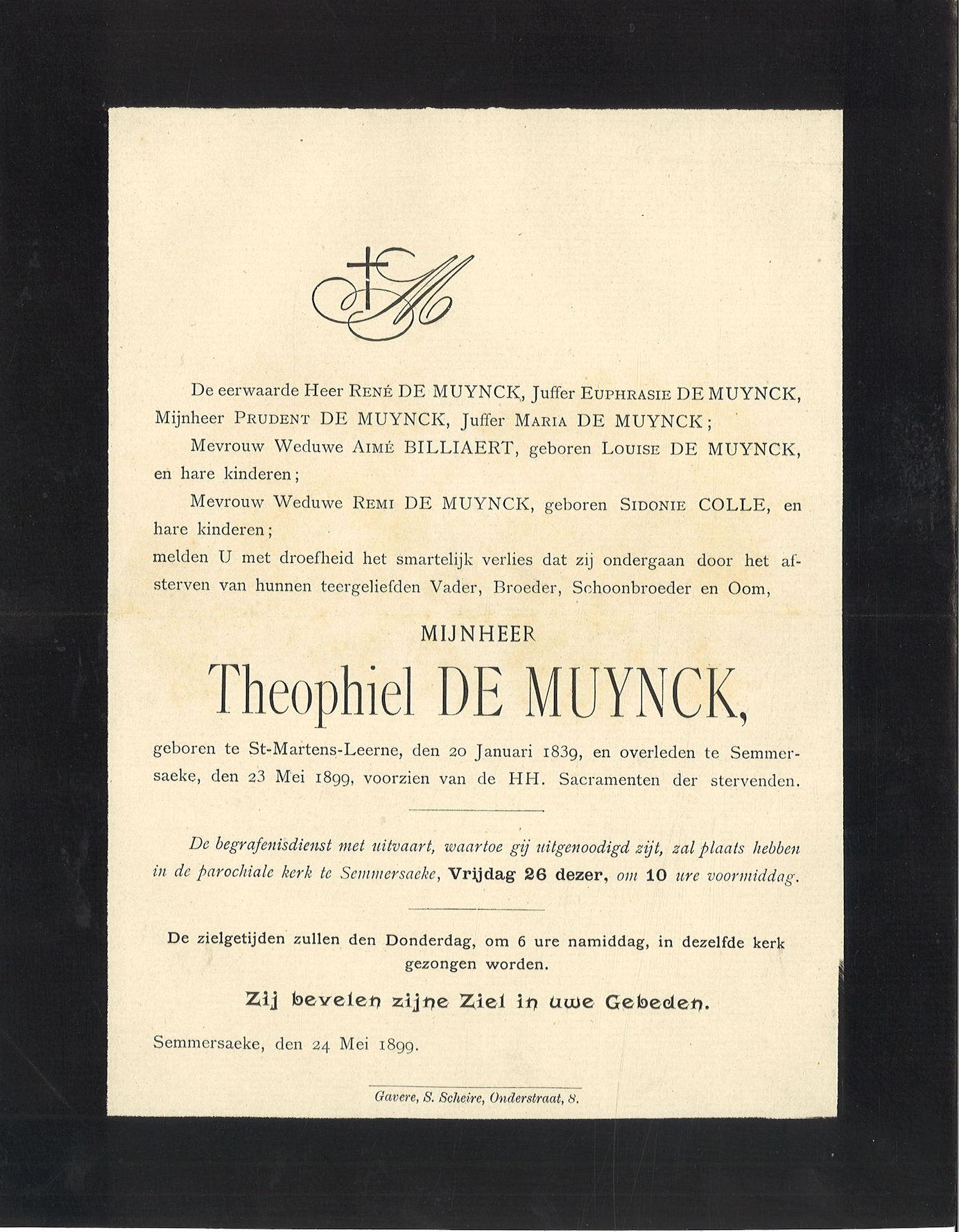 Theophiel De Muynck