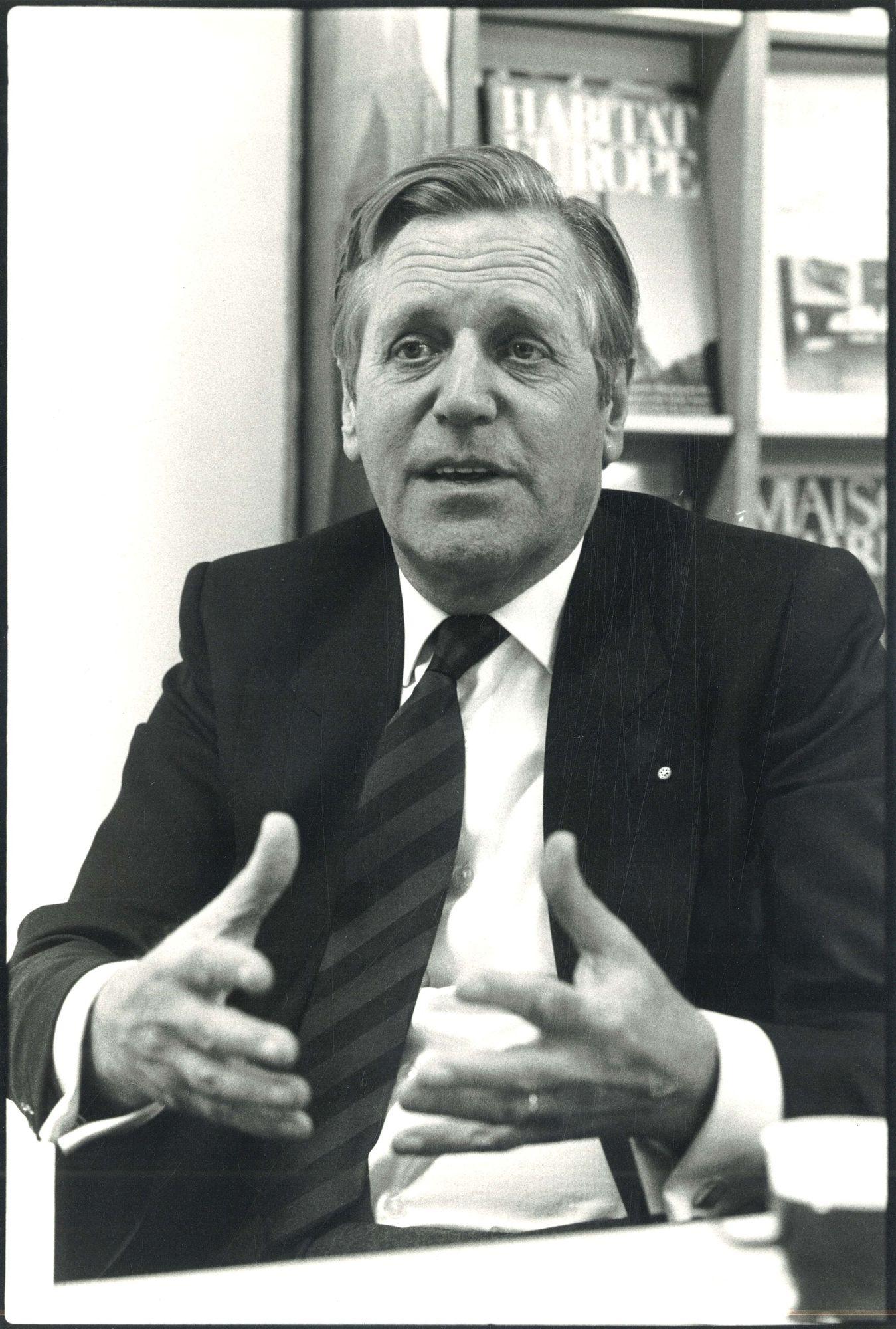 Dhr. Tuytens voorzitter van de B.D.B.H.1984