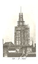 Heropbouw Sint-Maartenskerk in 1875