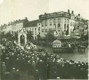 Folklorische stoet in september 1926