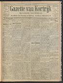 Gazette Van Kortrijk 1908-09-13