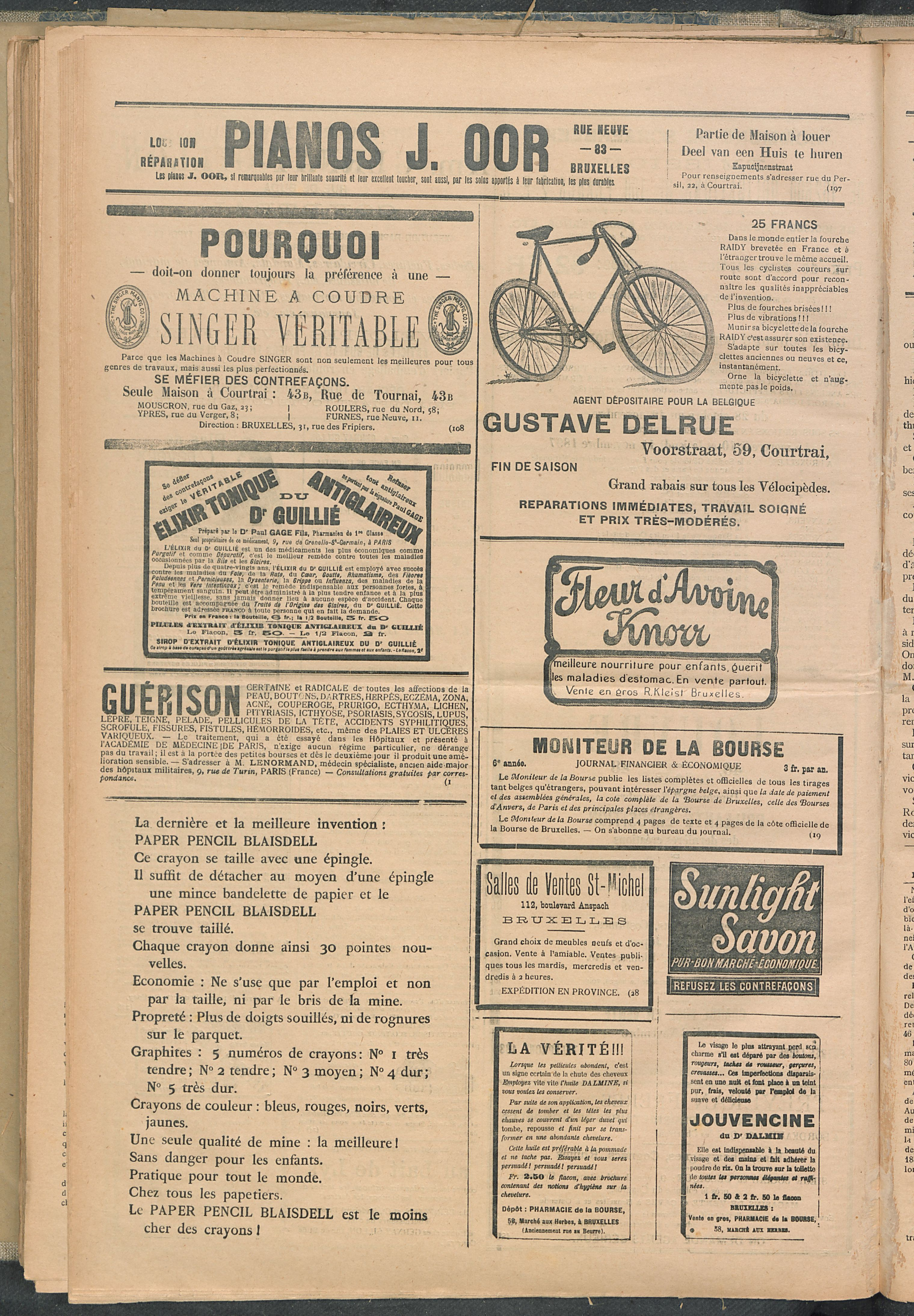 L'echo De Courtrai 1897-11-07 p6