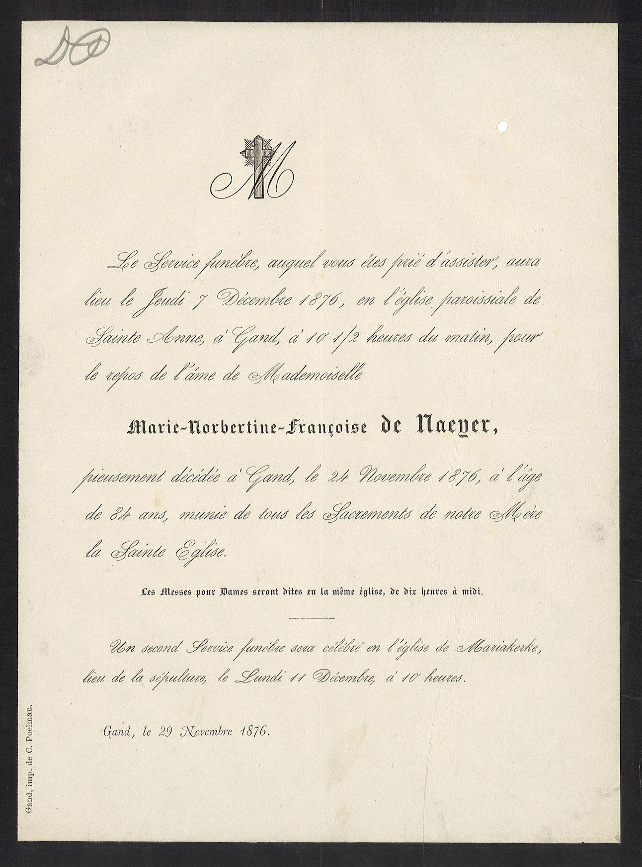 Marie-Norbertine-Françoise de Nayer