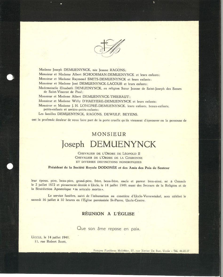 Joseph Demuenynck