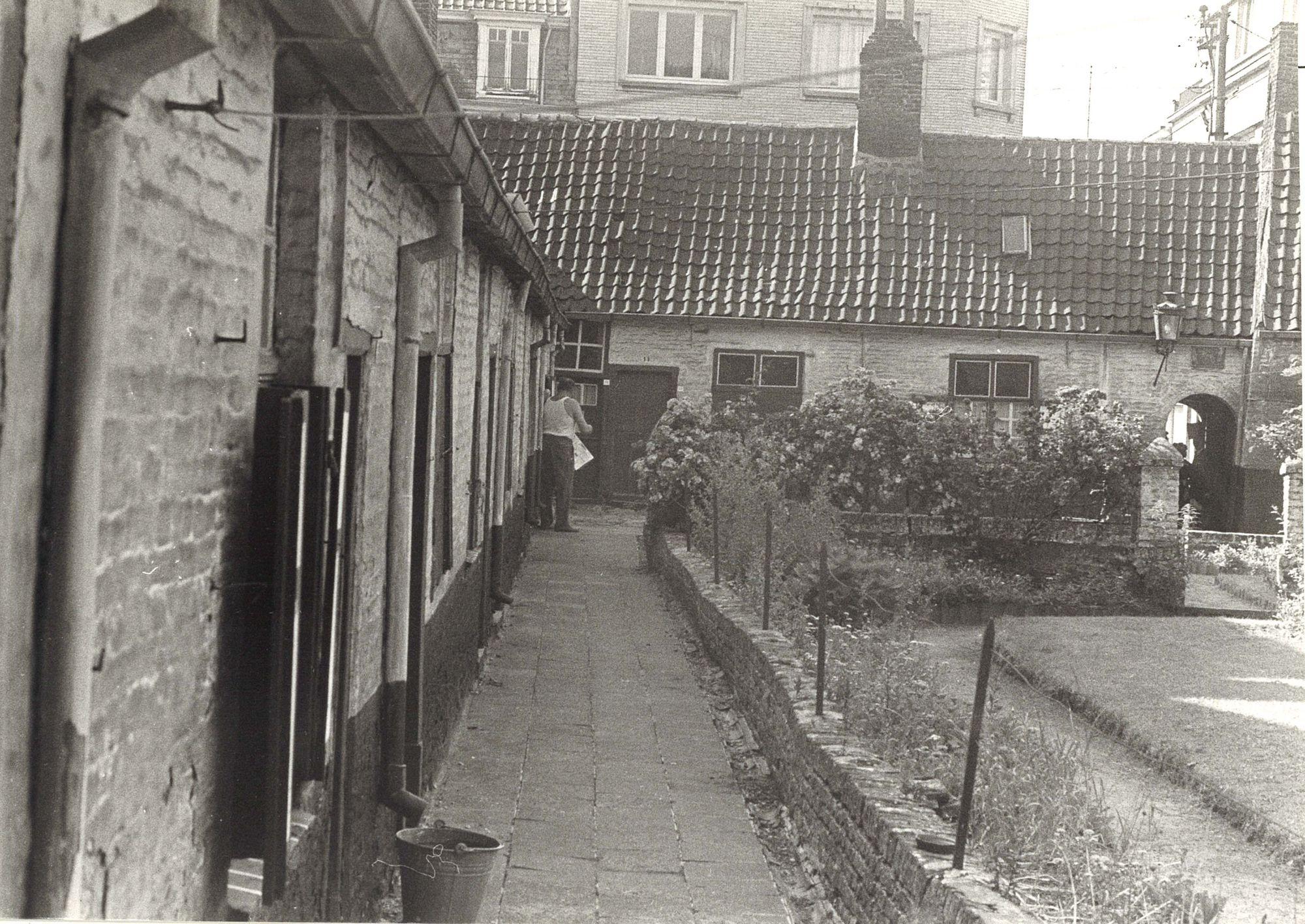 Baggaertshof in de Sint-Jansstraat 1975