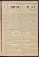 L'echo De Courtrai 1911-12-10 p1