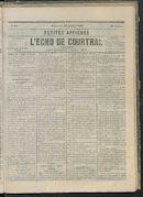 L'echo De Courtrai 1866-07-29