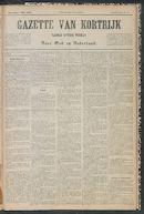 Gazette Van Kortrijk 1887-05-07