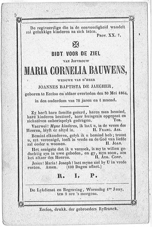 Maria Cornelia Bauwens