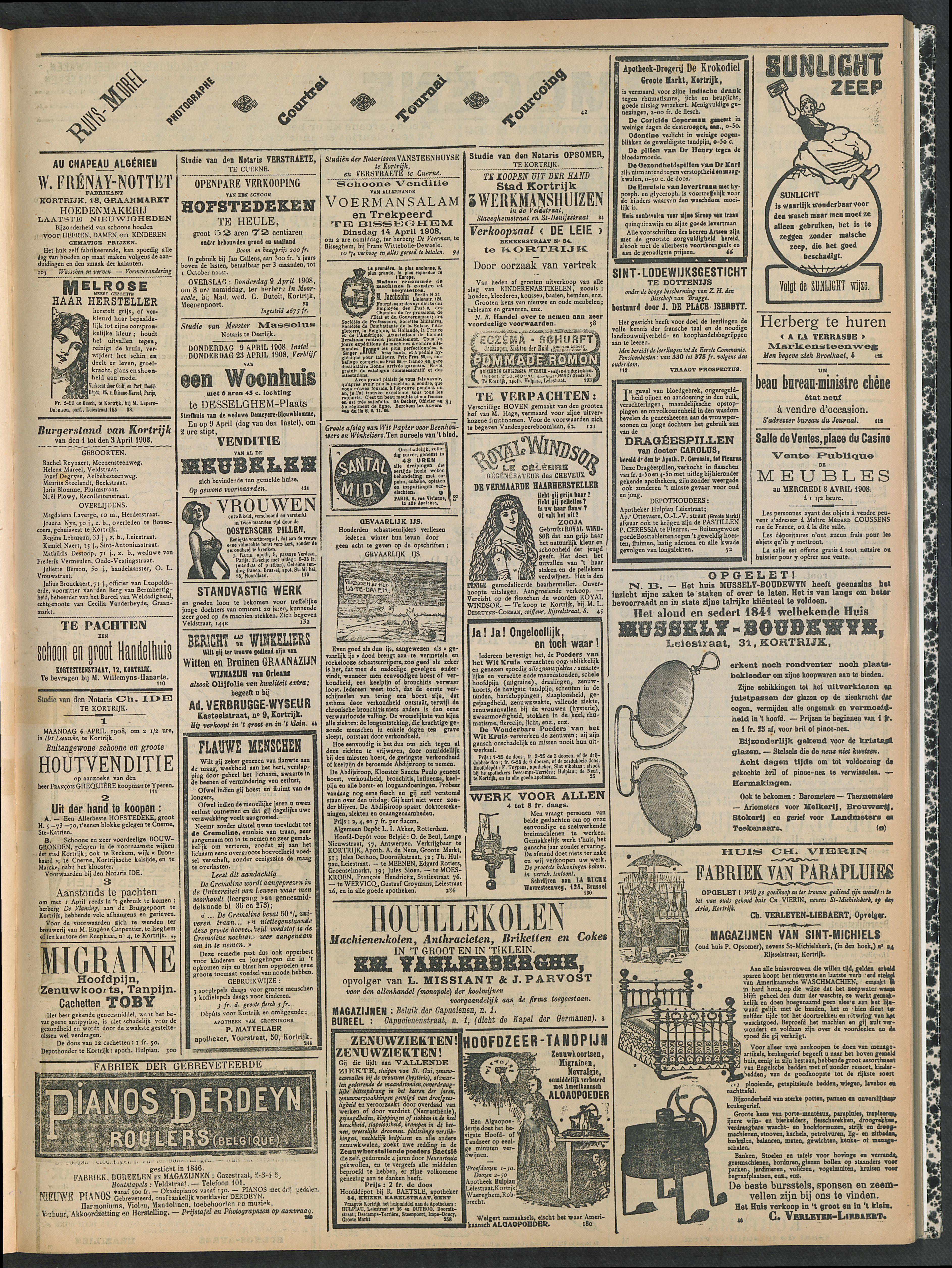 Gazette Van Kortrijk 1908-04-05 p3