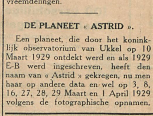 DE PLANEET ASTRID