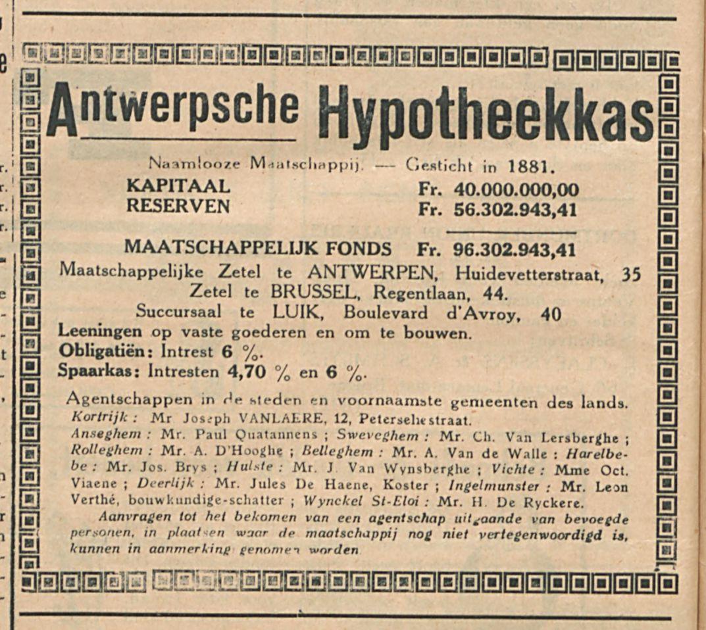 Antwerpsche Hypotheekkas