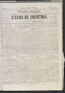 L'echo De Courtrai 1861-04-28