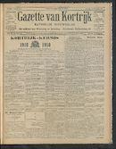 Gazette Van Kortrijk 1910-08-07 p1