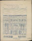 Bouwplannen van twee huizen in de Jan Breydellaan voor rekening van Fraderic Vandenberghe te Kortrijk, 1911