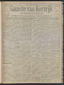 Gazette Van Kortrijk 1908-07-05 p1