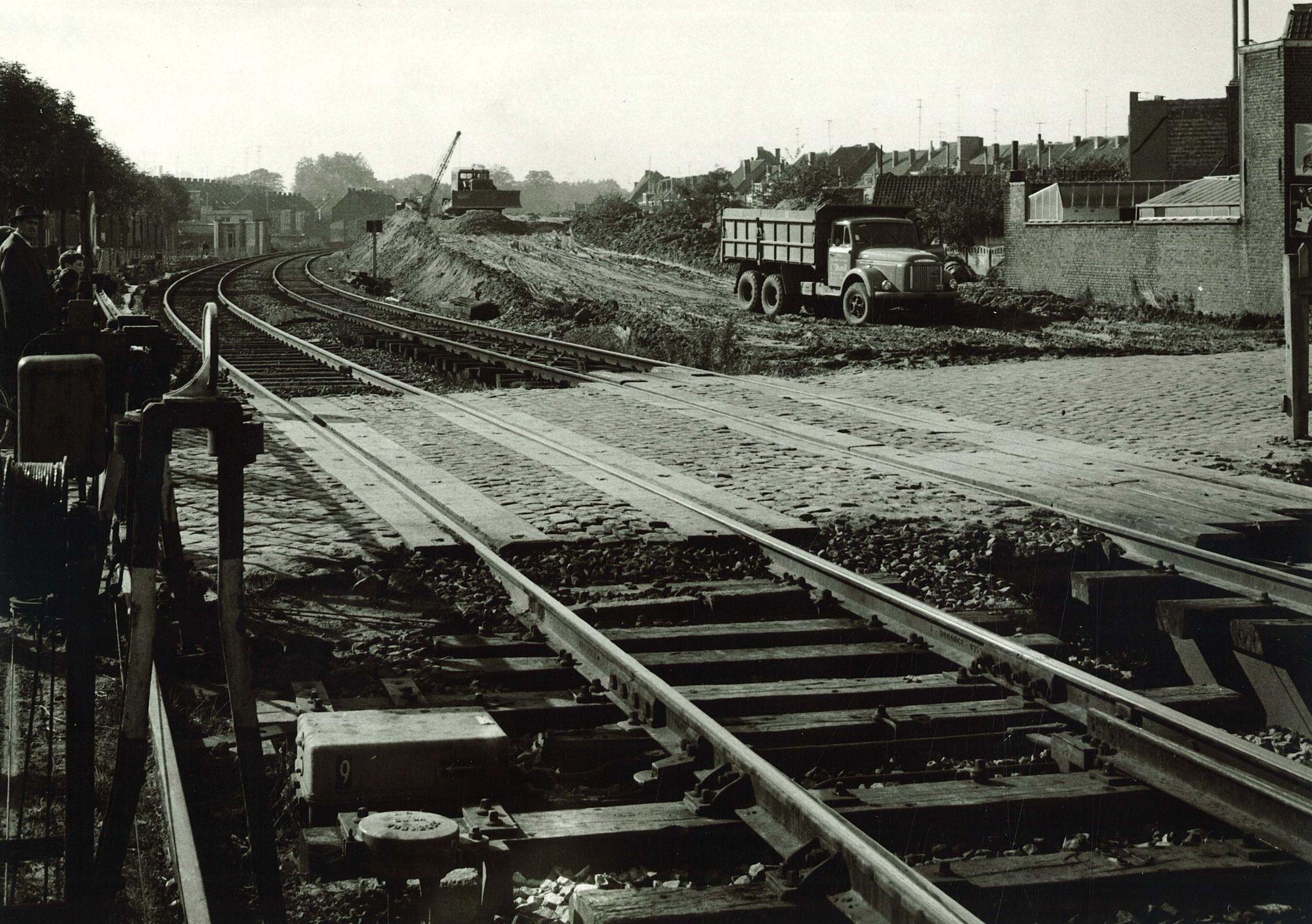Spoorwegophoging Wandelingstraat