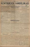 Kortrijksch Handelsblad 15 september 1944 Nr1 p1