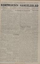 Kortrijksch Handelsblad 1 oktober 1946 Nr79 p1