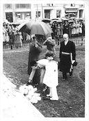 Prinselijk bezoek in 1951