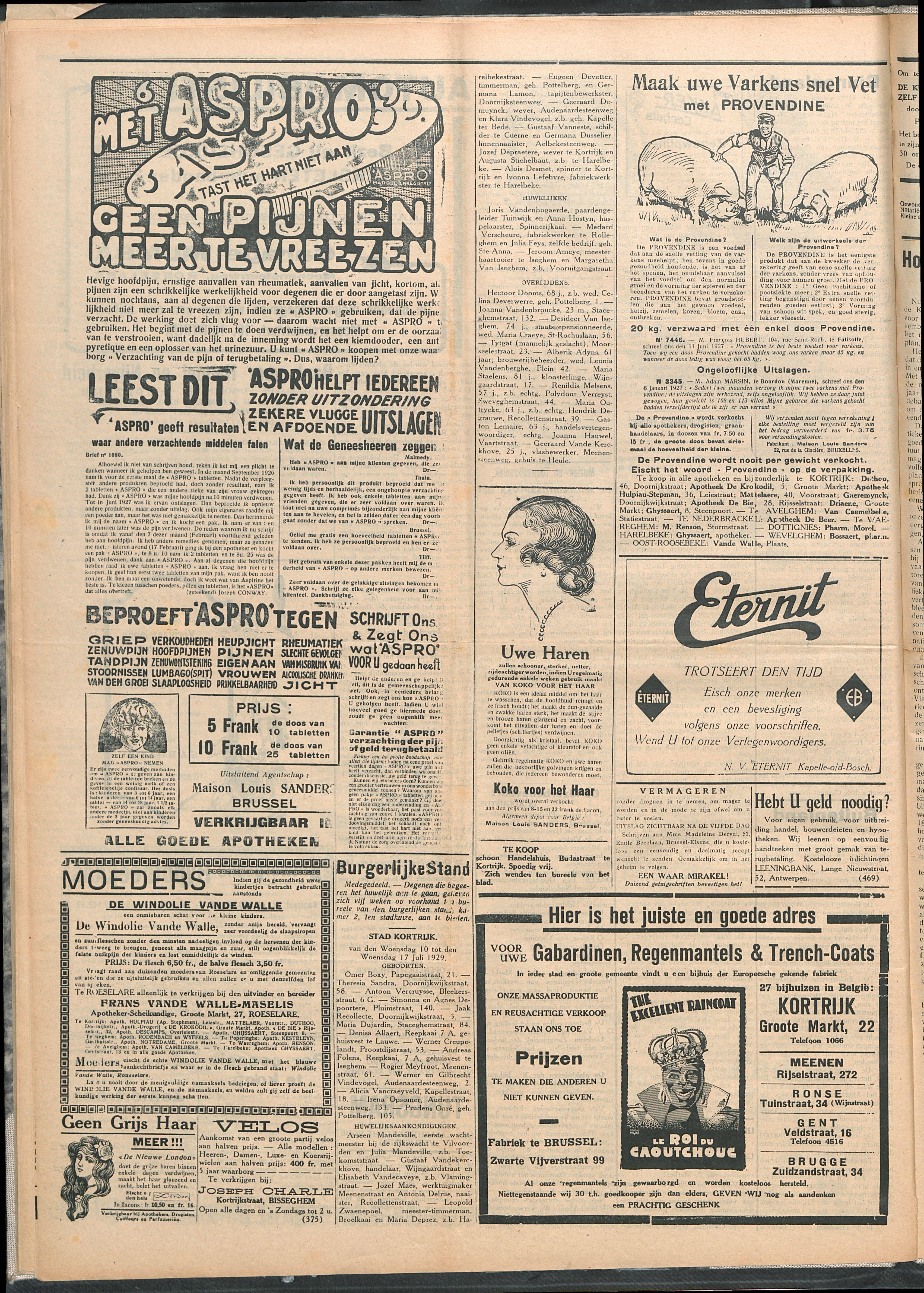 Het Kortrijksche Volk 1929-07-21 p4