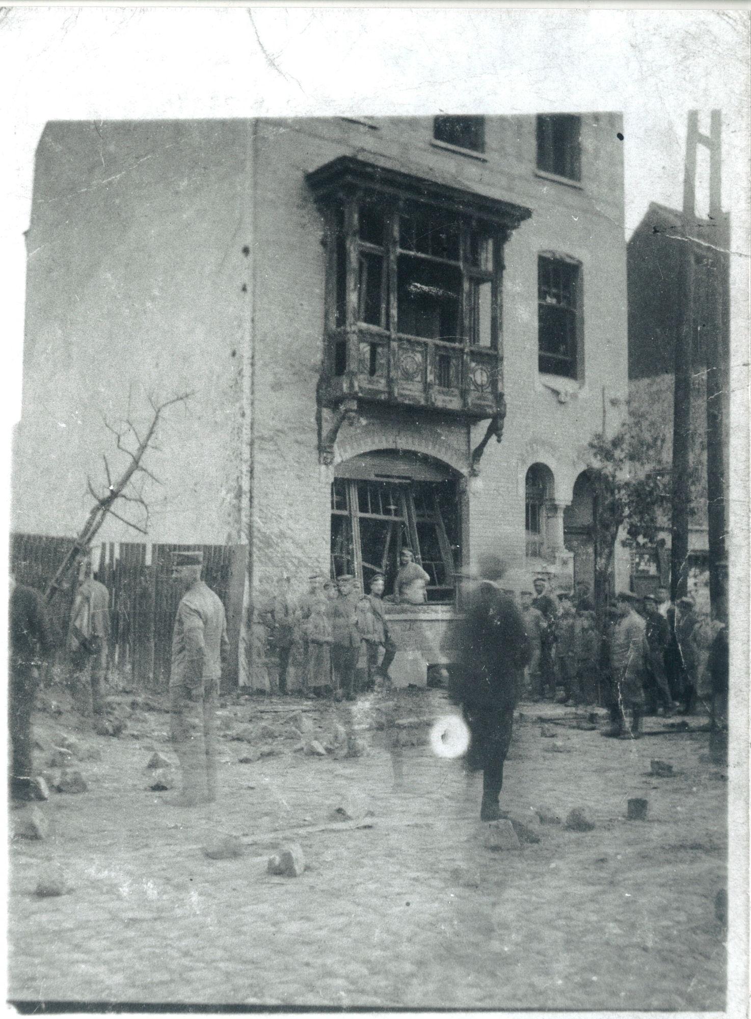 Fabriekskaai in 1917