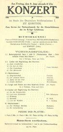 Concert 1917