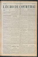 L'echo De Courtrai 1912-04-28