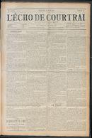 L'echo De Courtrai 1912-04-21