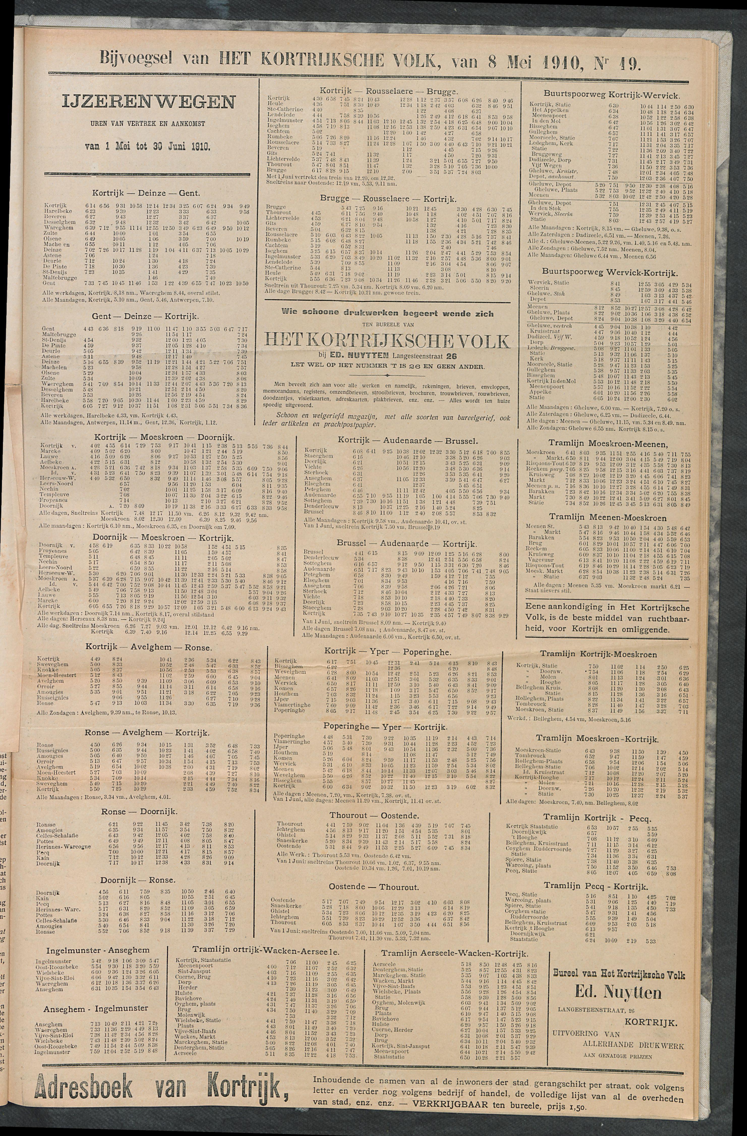 Het Kortrijksche Volk 1910-05-08 p5