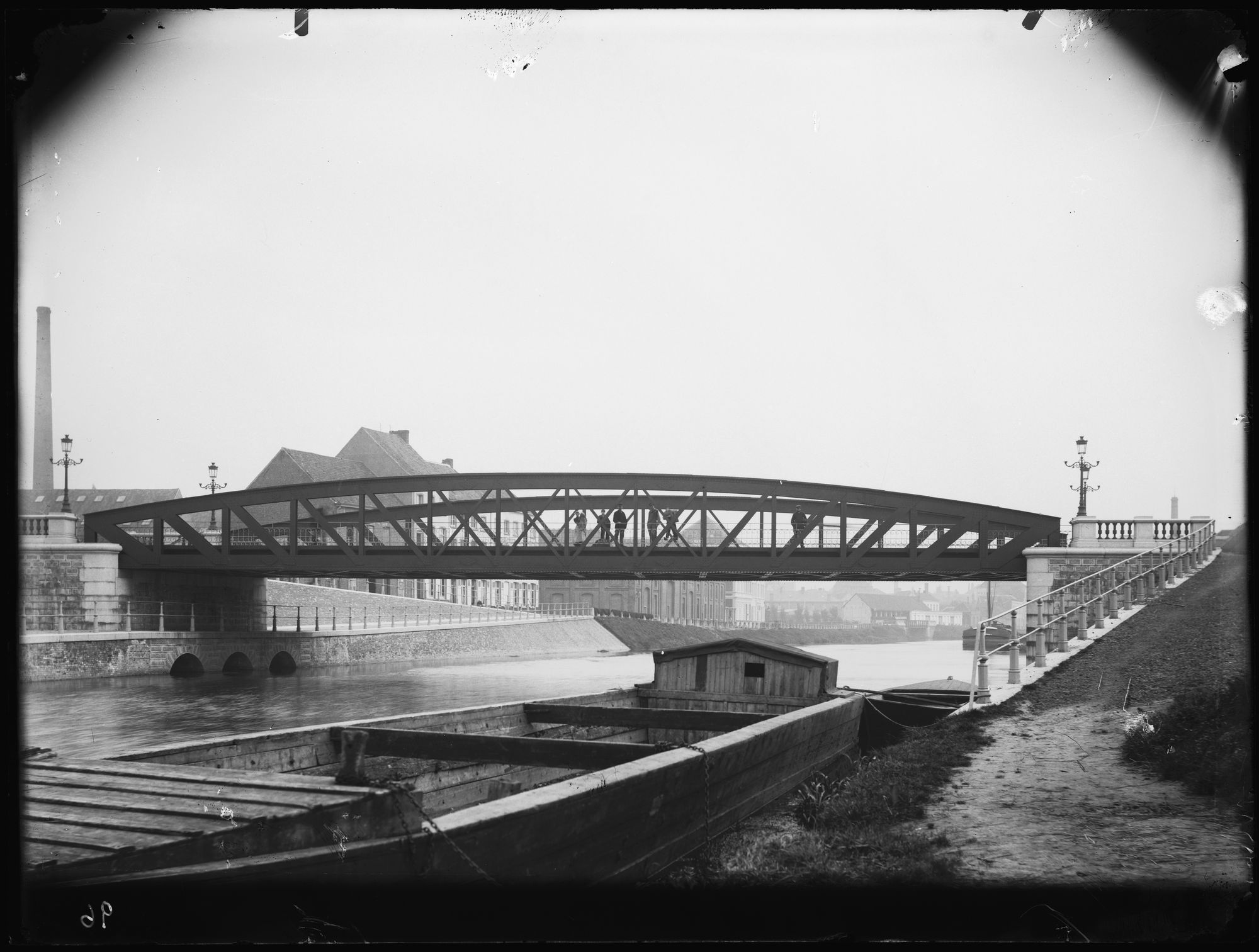 Gerechtshofbrug circa 1900
