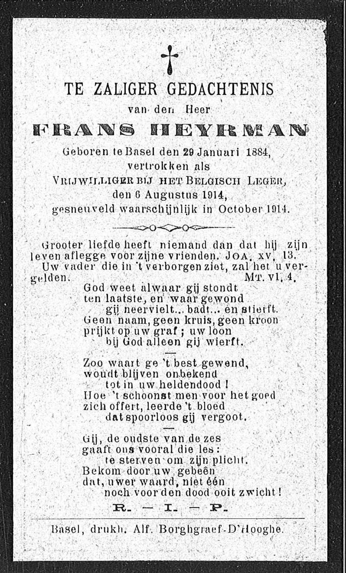 Frans Heyrman