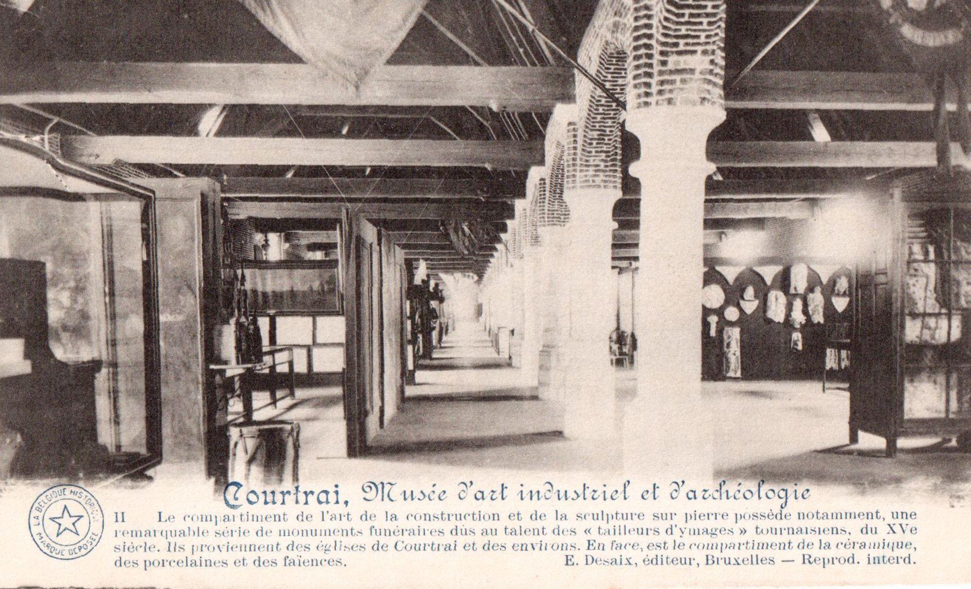 Interieur voormalig museum in de Grote Hallen