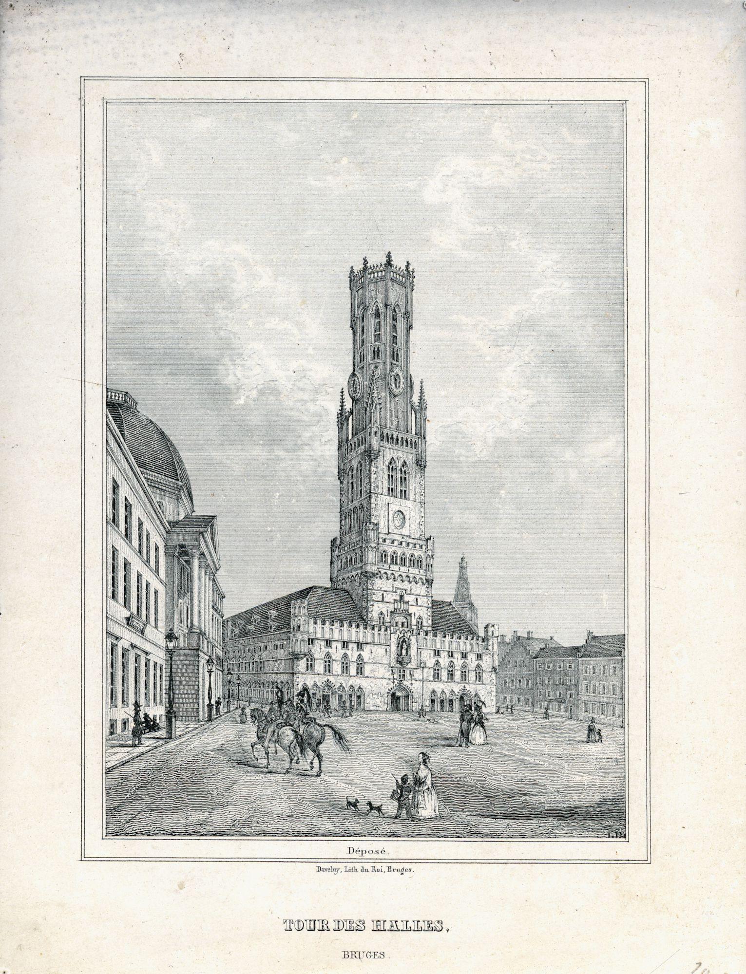 Westflandrica - Brugge, de Halletoren