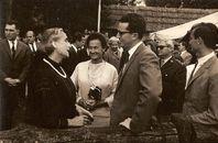 Koninklijk bezoek Villa Flandria, Lujùan (Argentinië) 1965
