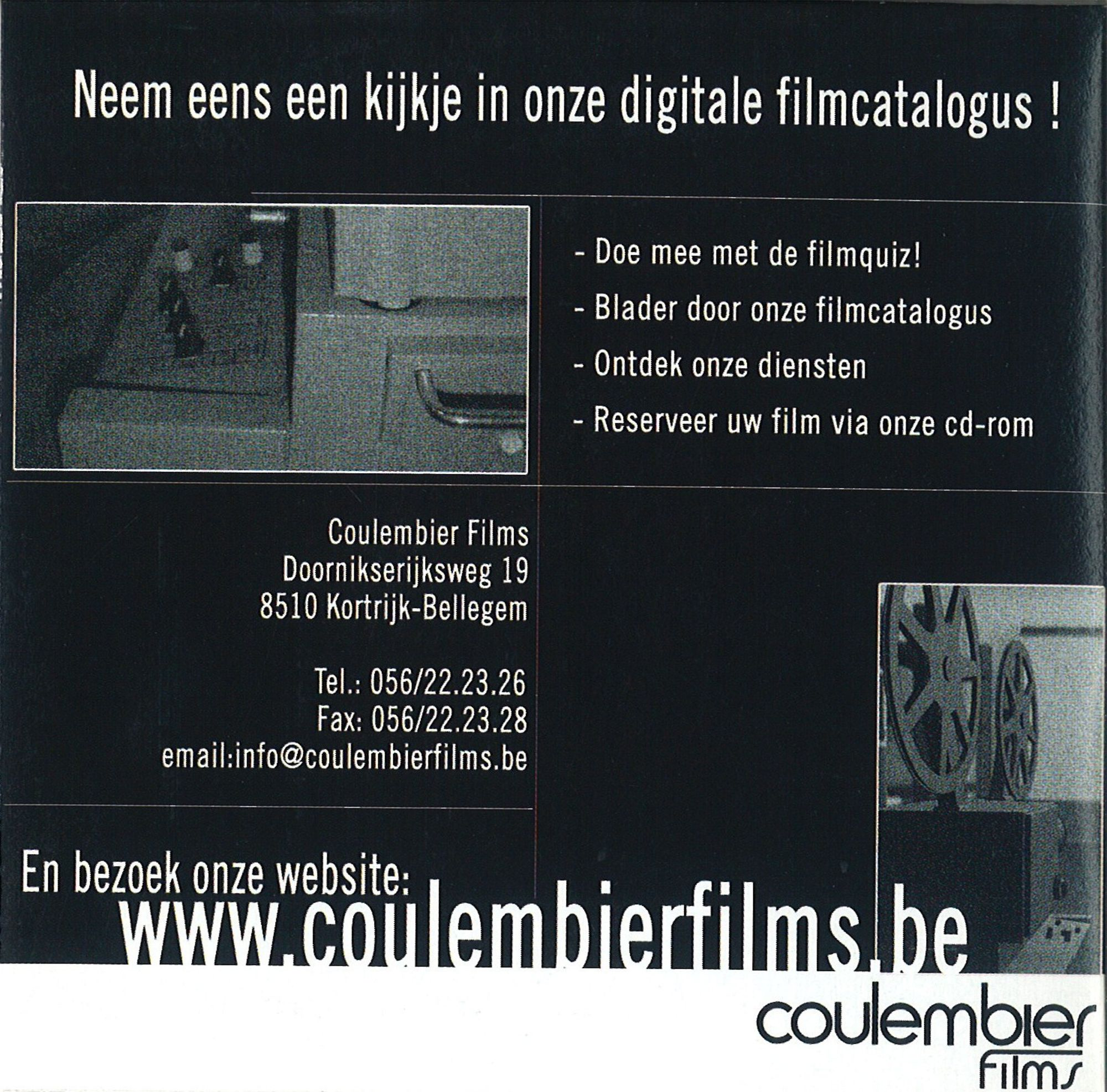 Coulembier films