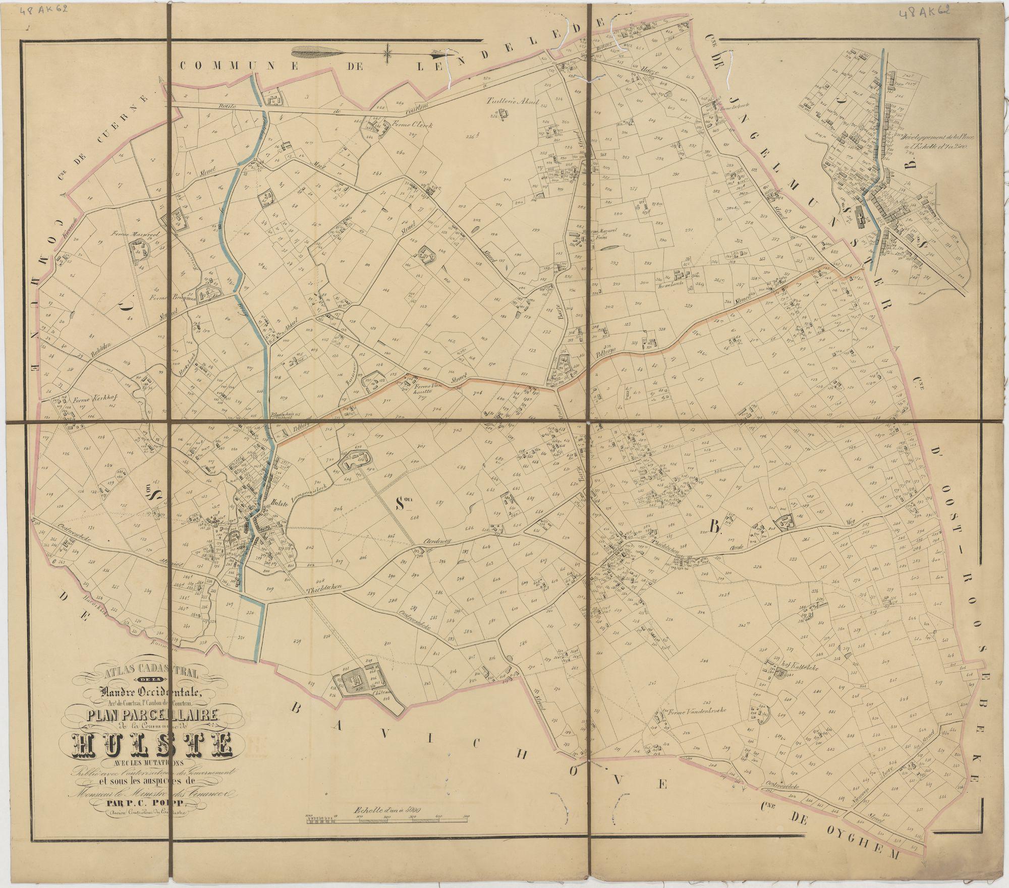 Westflandrica - Poppkaart van Hulste
