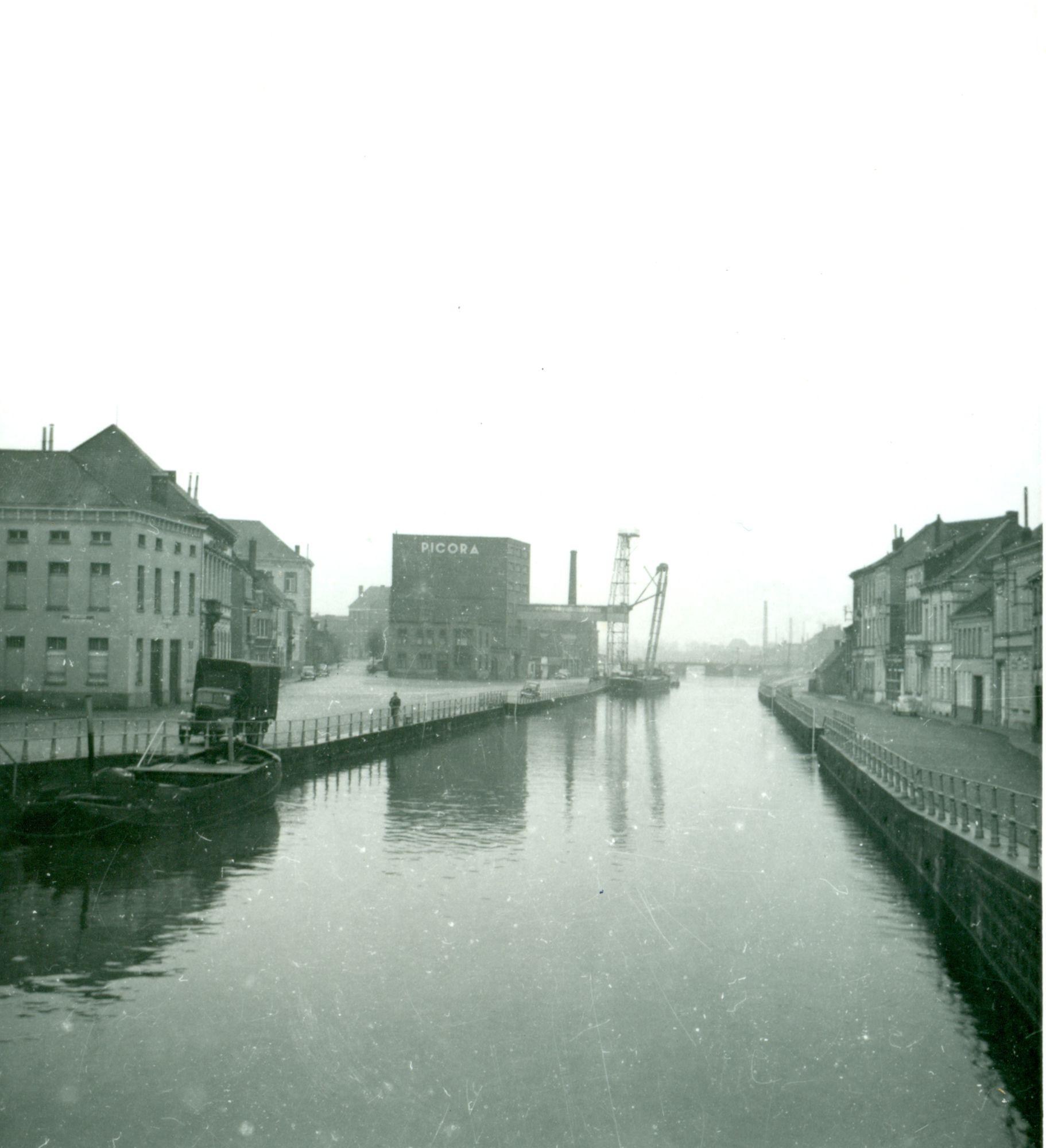 Kasteelkaai-Handelskaai 1952