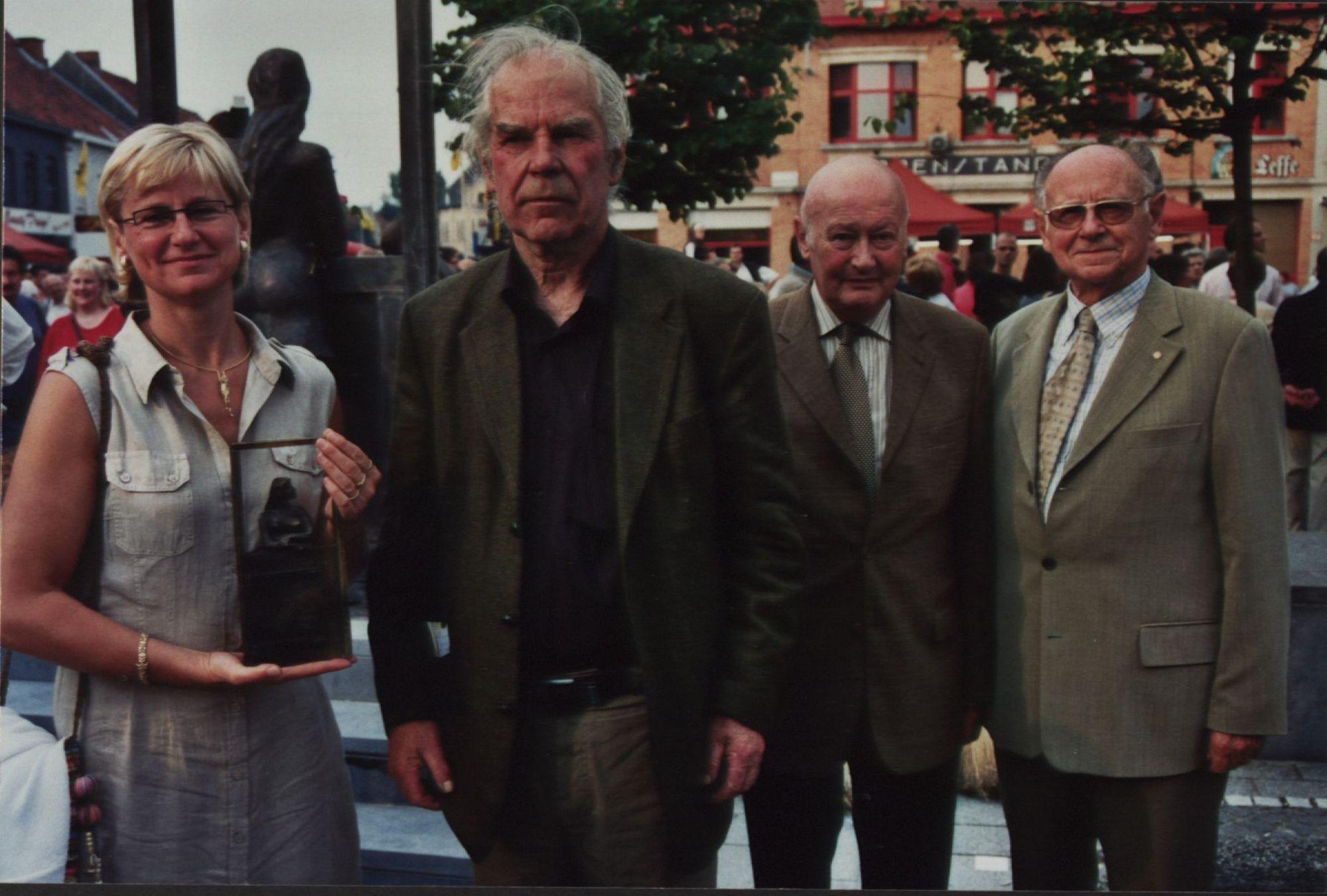 Inhuldiging Minneke 2005