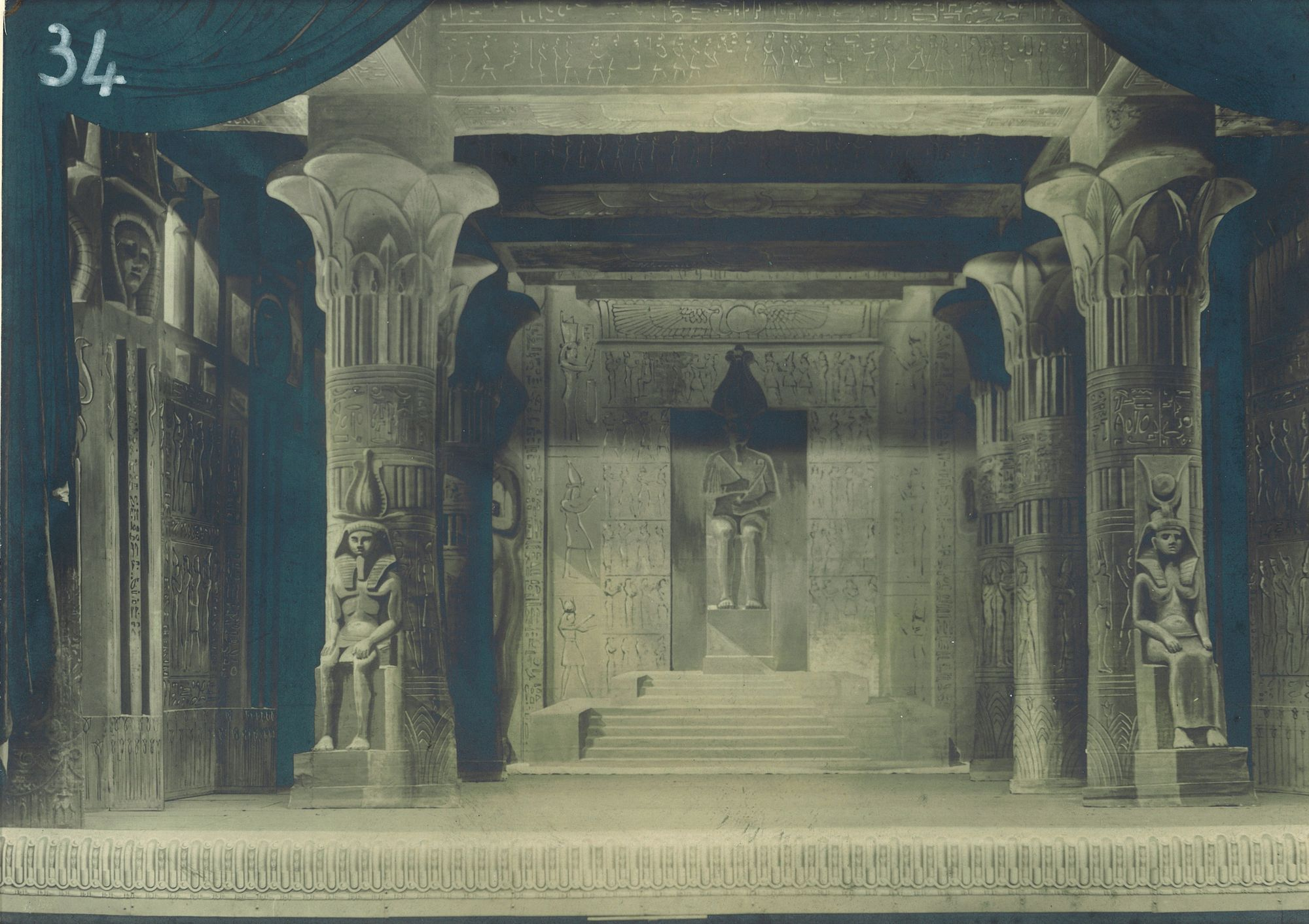 Grand temple égyptien