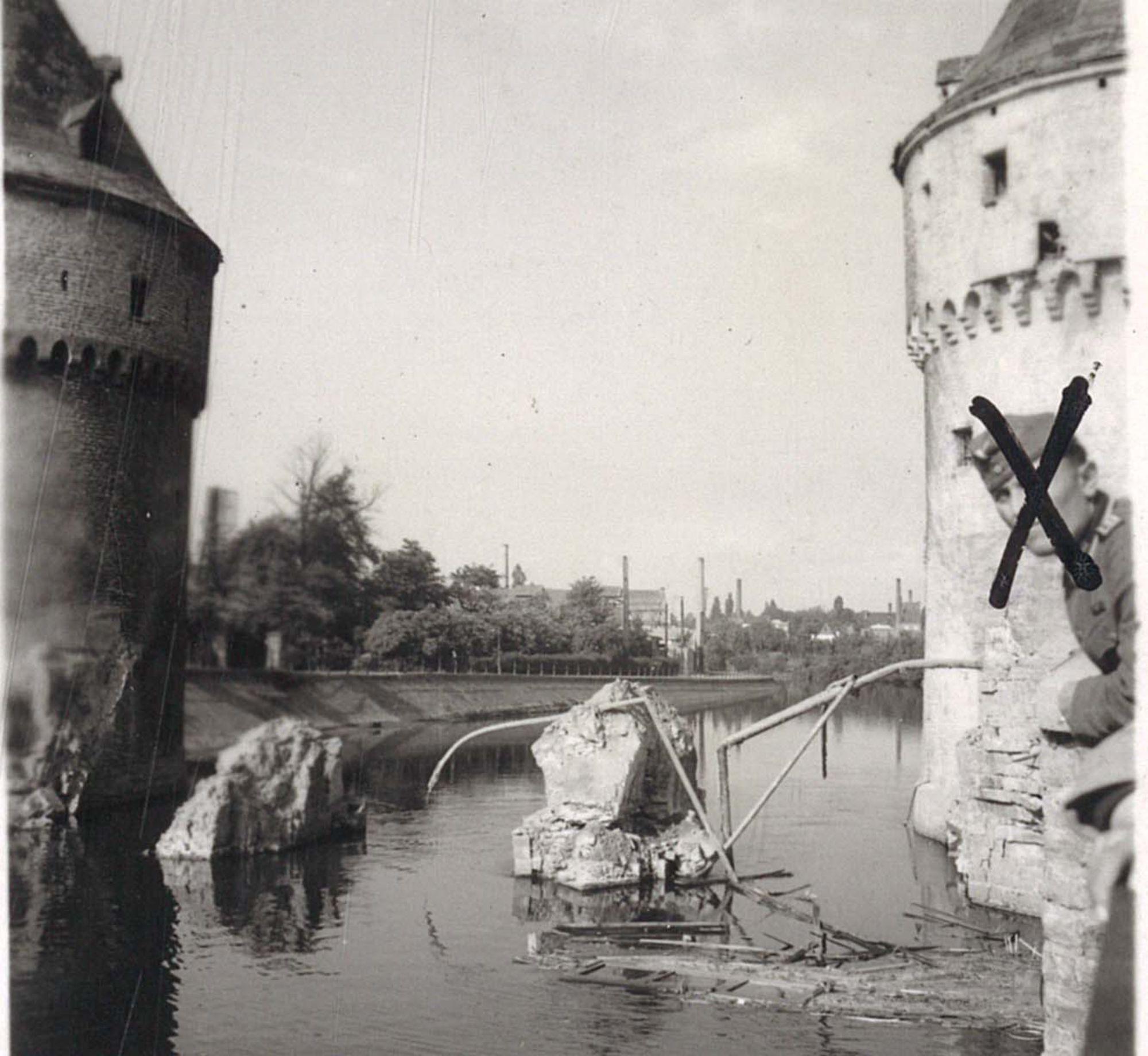 Kortrijk - oorlogsschade