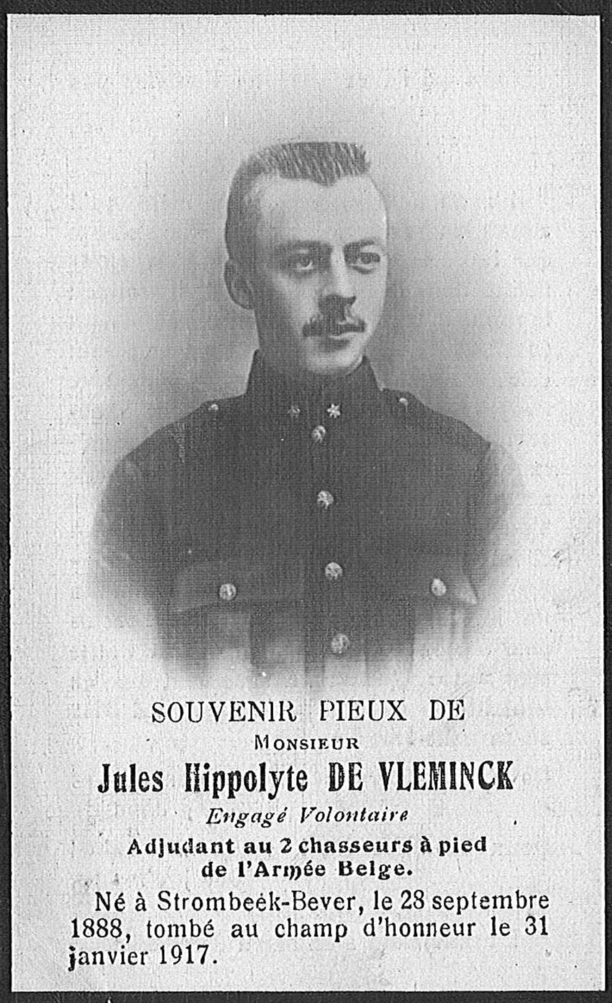 Jules-Hippolyte De Vleminck