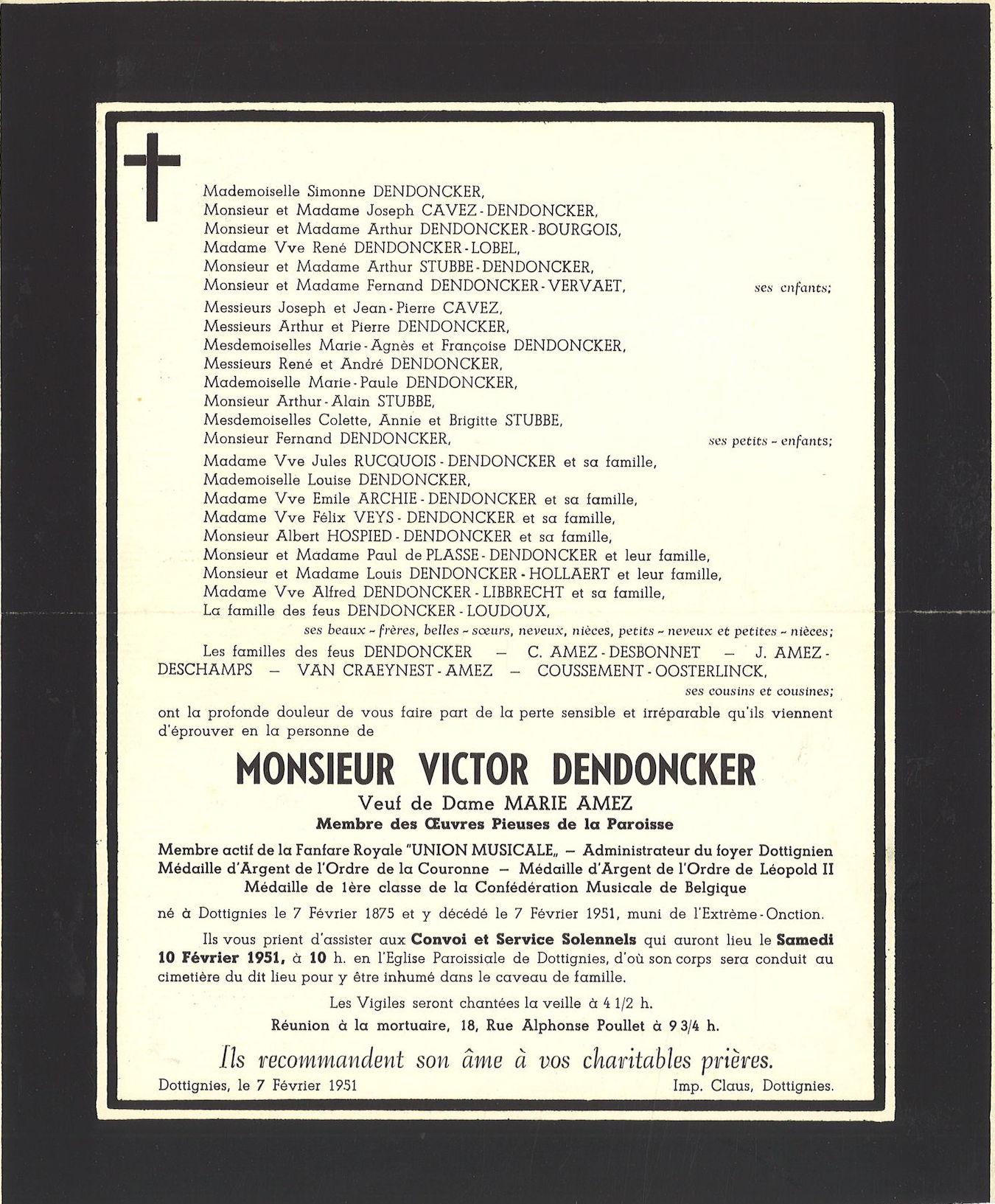 Dendoncker Victor