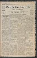 Gazette Van Kortrijk 1889-01-20
