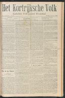 Het Kortrijksche Volk 1910-10-02 p1